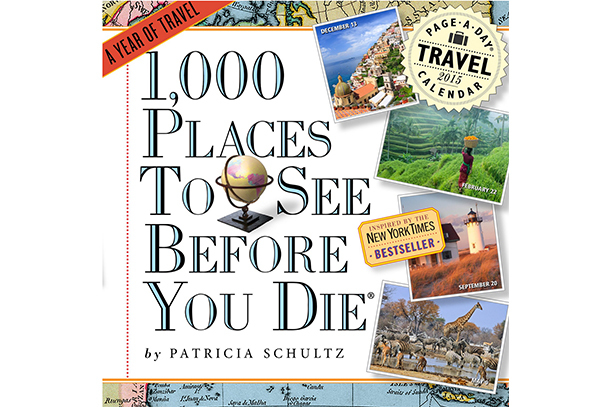 Pick of the Day: 1,000 Places to See Before You Die Picture-A-Day Wall Calendar 2016
