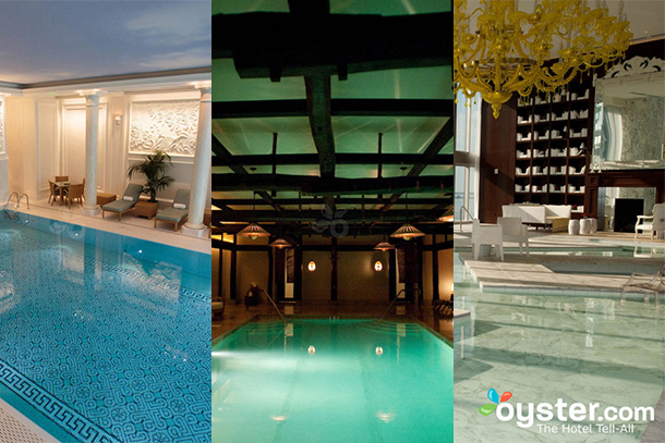 The 10 Most Beautiful Indoor Hotel Pools in the World