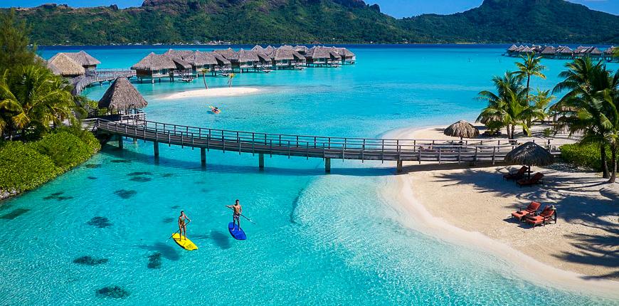 overwater bungalows intercontinental bora resort & thalasso spa