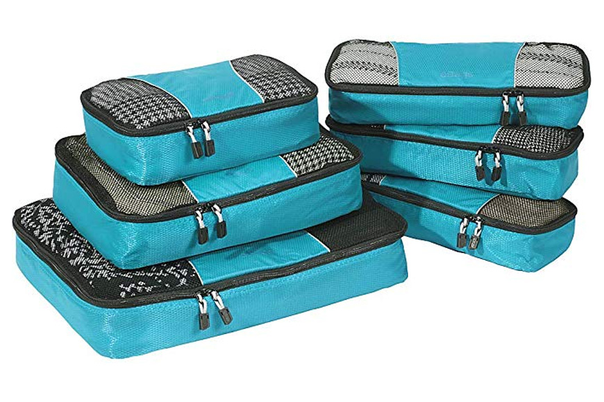 eBags classic packing cubes for travel