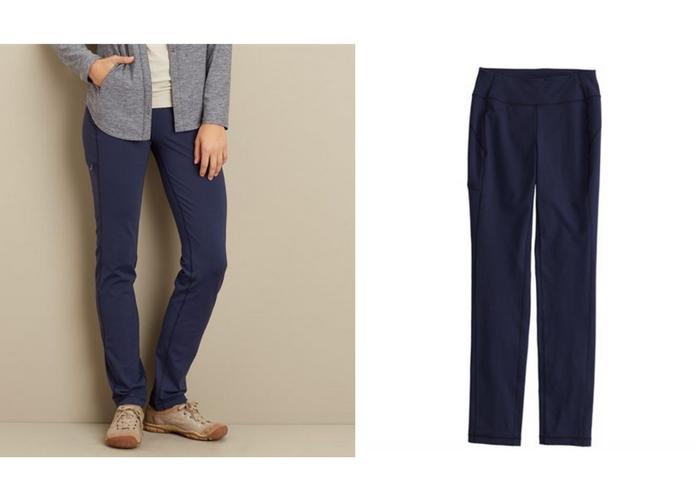 apers ski clothes Duluth Trading Co. Noga Slim Leg Stretch Pants