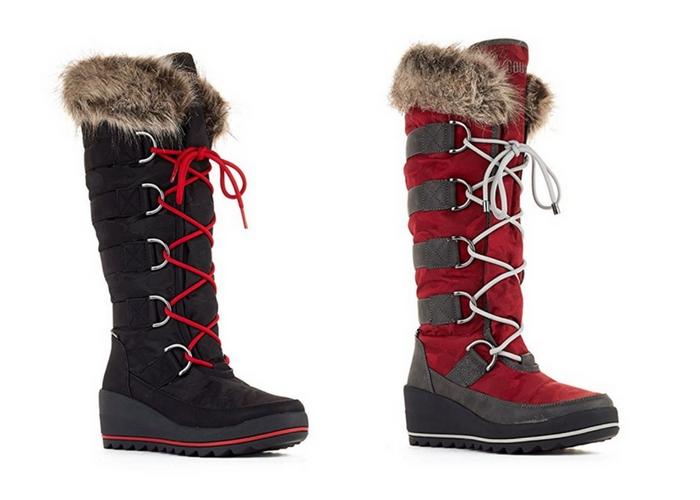 apres ski clothes Cougar Women's Lancaster Wedge Snow Boot