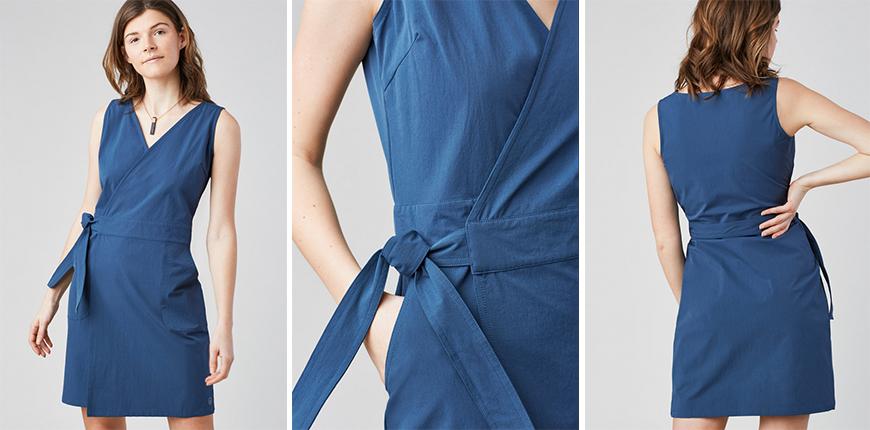 anywhere wrap dress