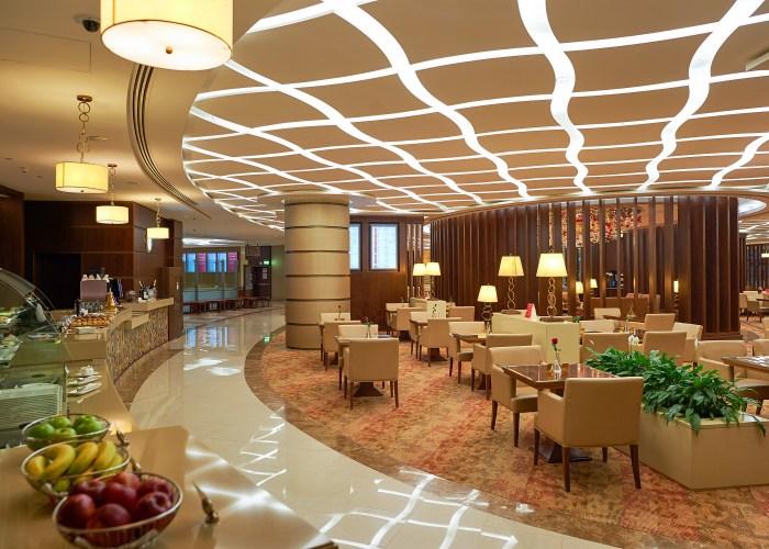 airport lounge interior