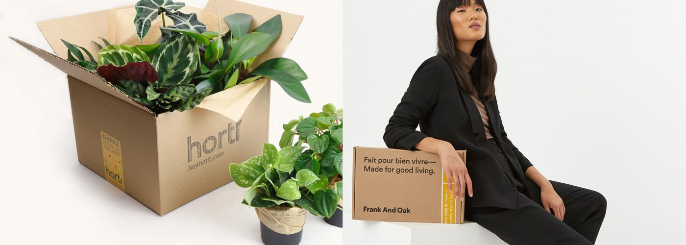 horti and Frank & Oak subscription Boxes