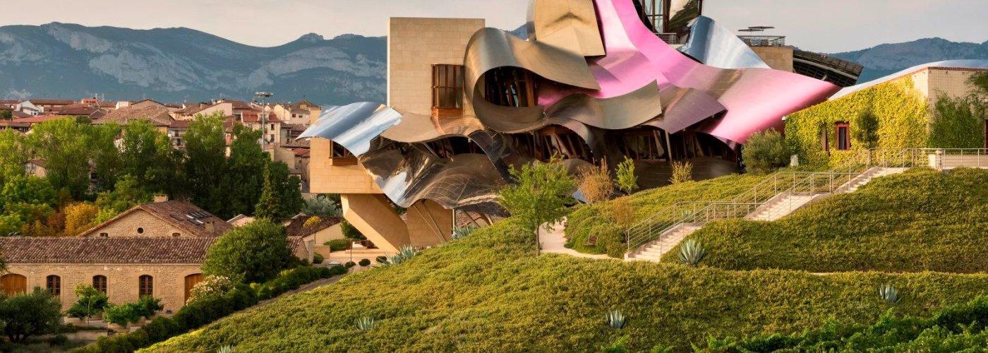 vineyard hotels hotel marques de riscal