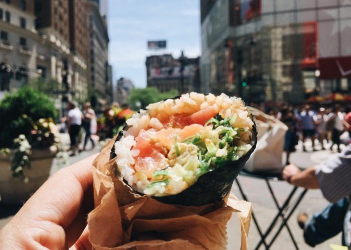 sushi burrito sushirrito