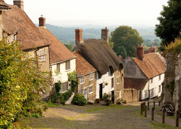 English Village Dorset England