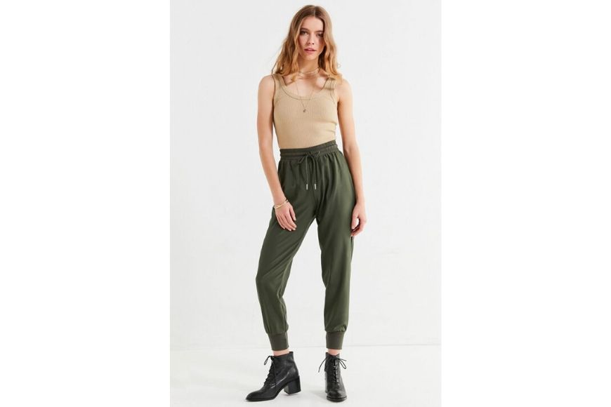 Urban outfitters woven jogger pant.