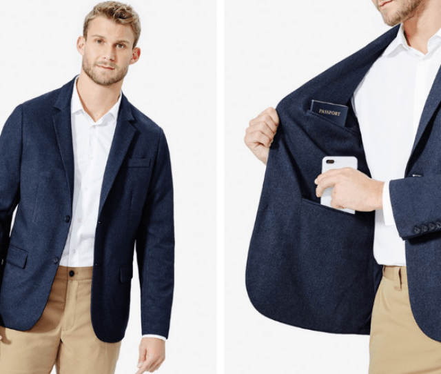 As A Mens Clothing Brand Thats Big On Wrinkle Free Travel Clothes Bluffworks Offers Truly Wrinkle Free Workwear That Includes The Gramercy Blazer