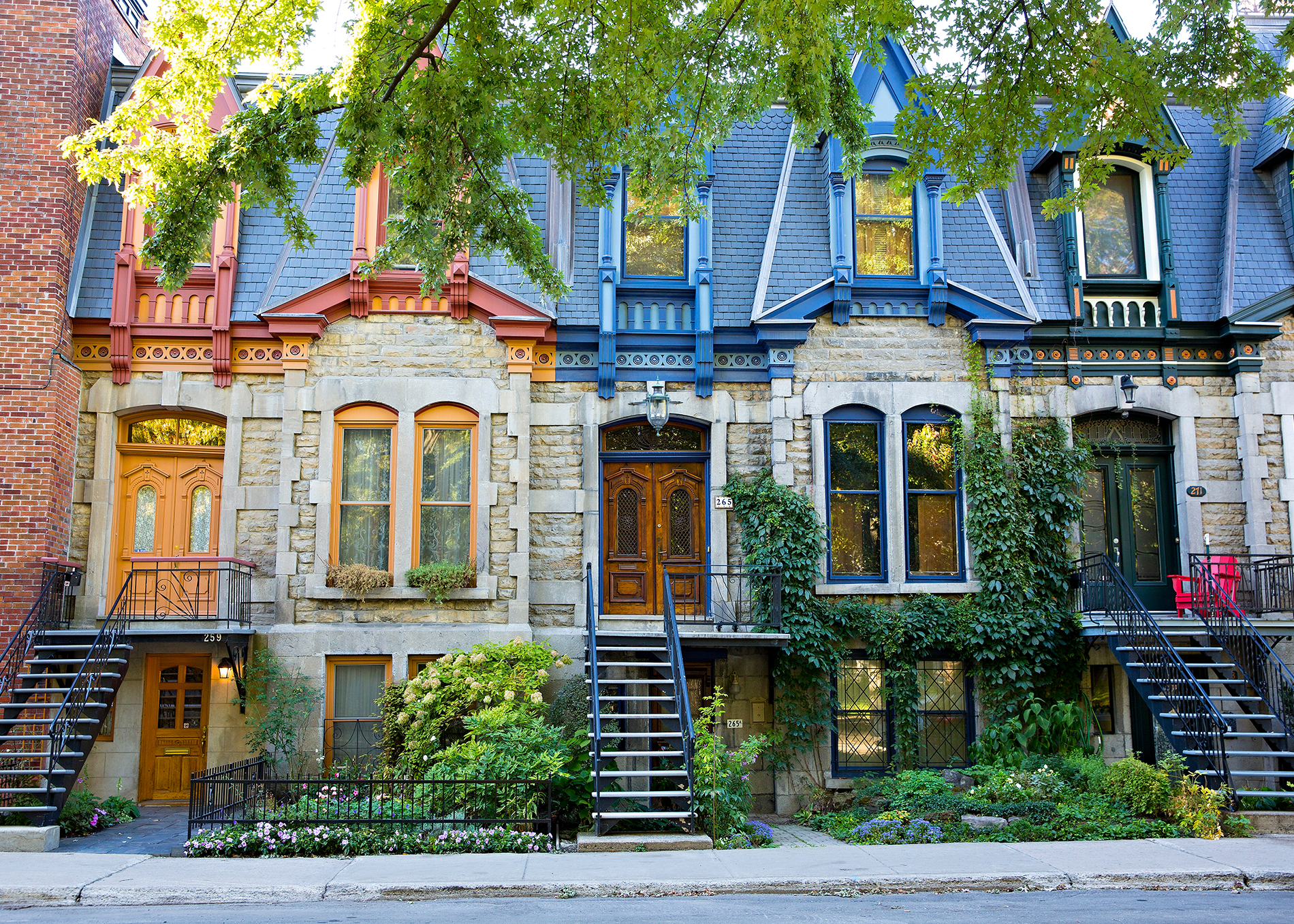 montreal townhouses
