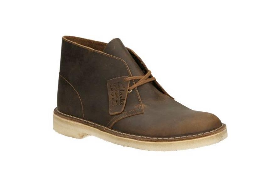 Clarks's classic desert boots