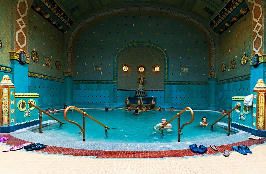 Hotel gellert thermal spa budapest hungary summer in europe