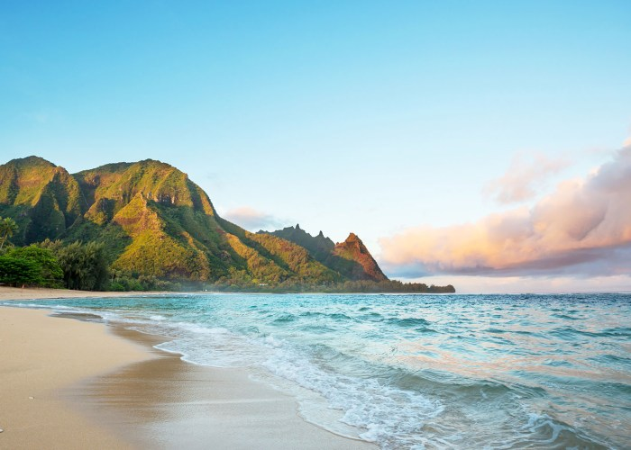 beach in kauai.