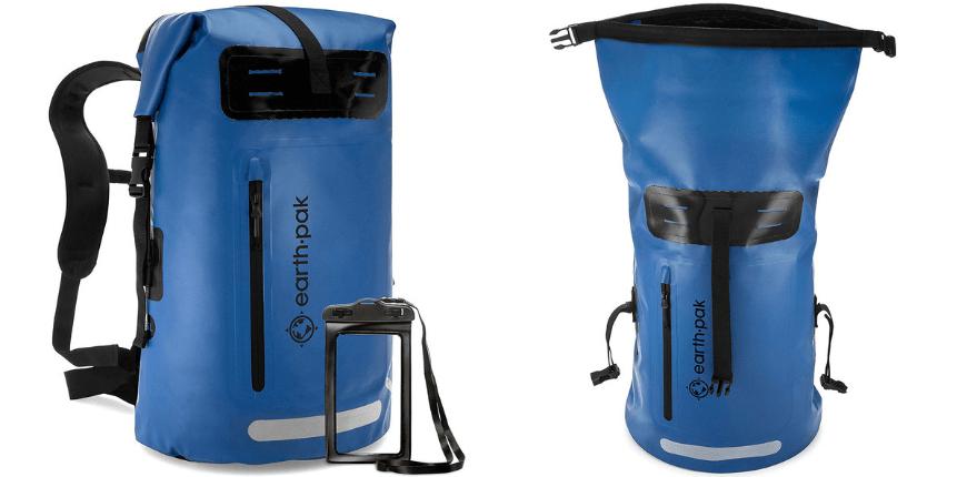 Earth pak summit dry bag backpack