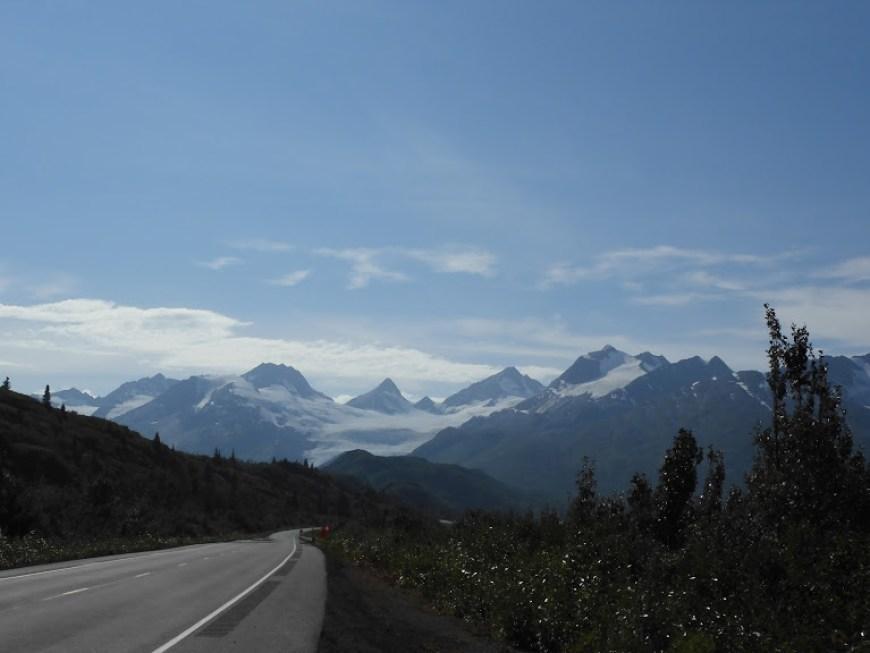 Road to valdez, alaska.