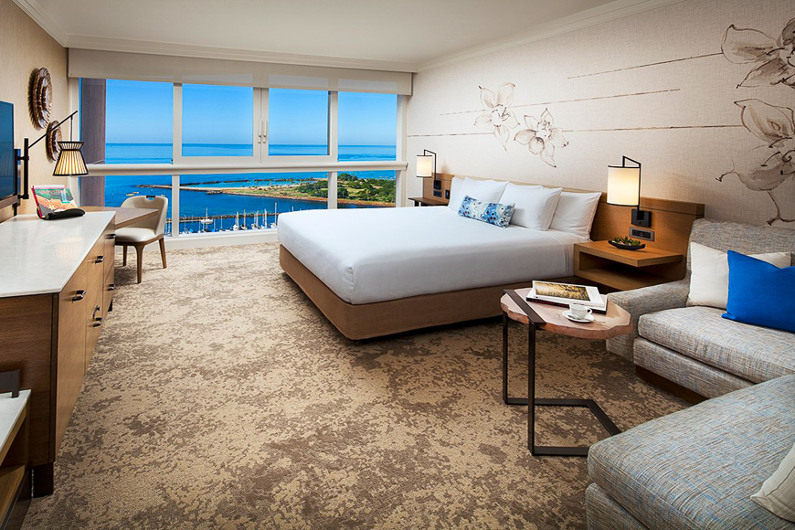 Prince Waikiki, Oahu interior room