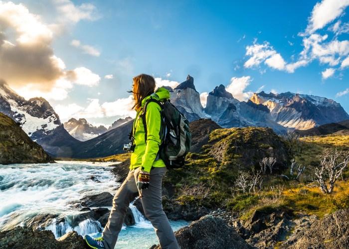 patagonia hiker.