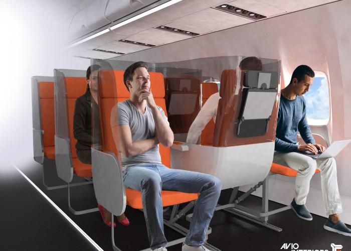 Janus plane seats Aviointeriors.