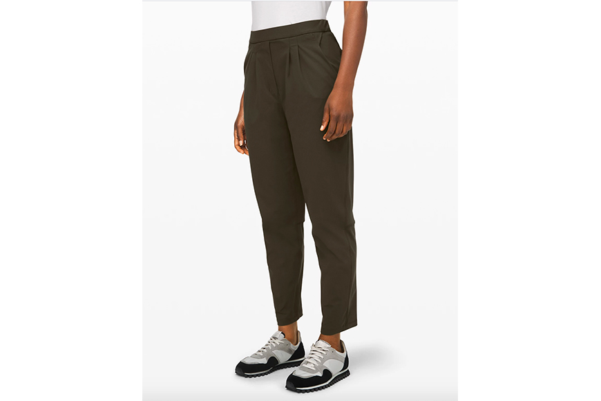work from home outfit Lululemon trouser.