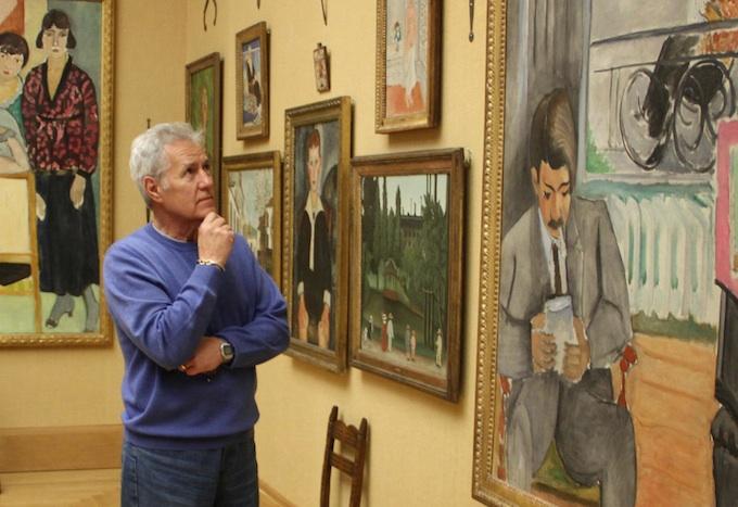 Alex Trebek Visits The Barnes Foundation Philadelphia