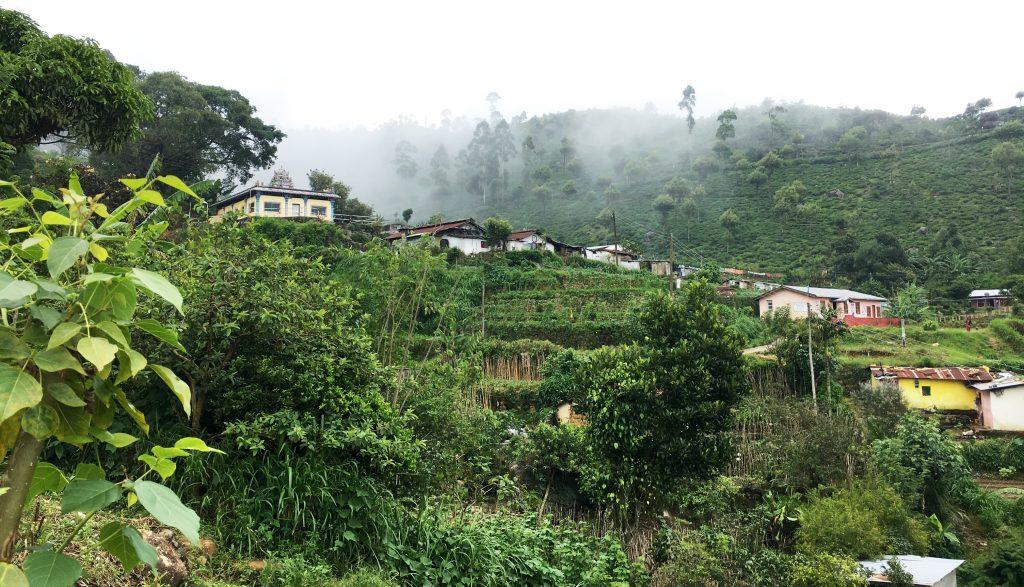 Haputale village, sri lanka