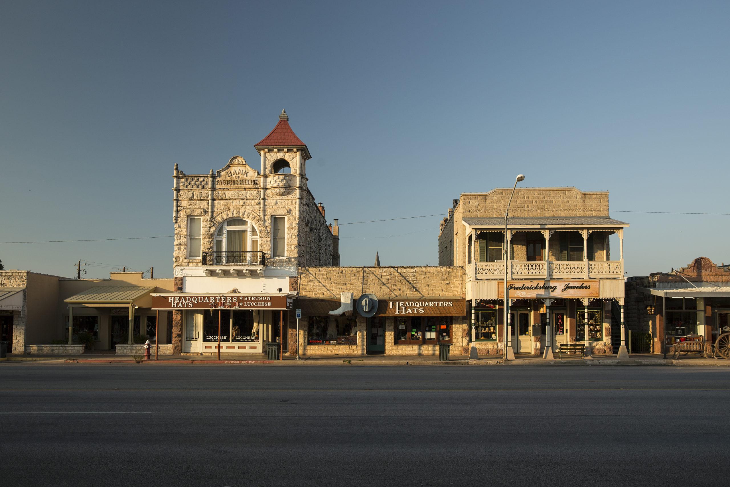Main Street of Fredericksburg, Texas