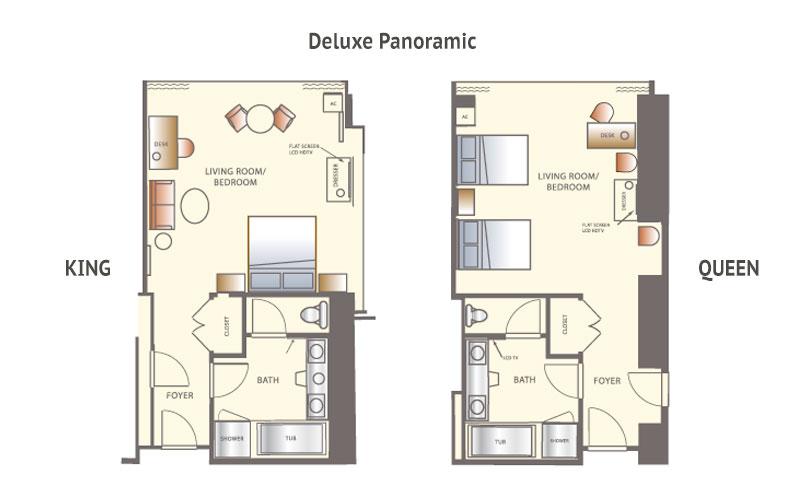 Mandalay Bay 2 Bedroom Suite Floor Plan