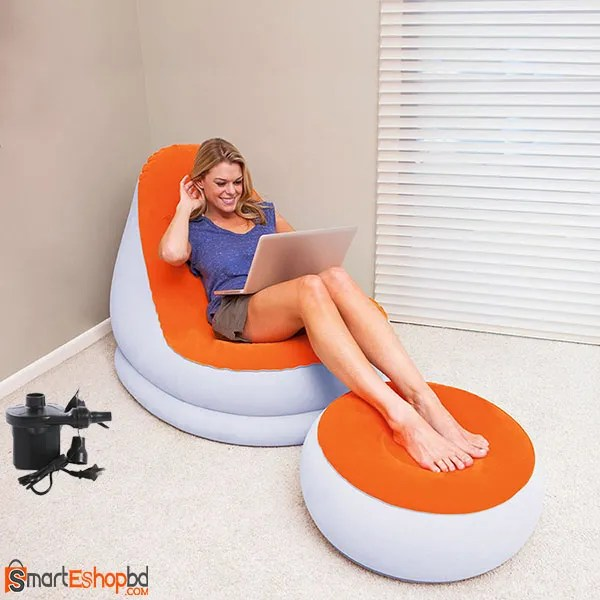 Inflatable Chair & Foot tool