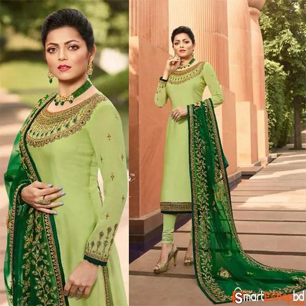 Light Green Patiala Suit
