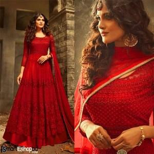 Ethnic wear Georgette Fashion Anarkali Salwar Kameez Party Wear Maisha