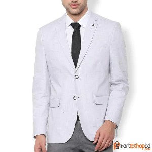 Double Button Slim Fit Blazer for Men