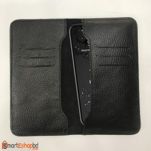 100% genuine leather mobile pouch and Wallet