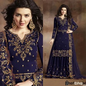 Sharara Suits with long kameez