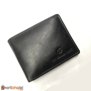 Genuine leather Short leather wallet