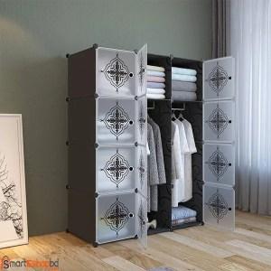 12 cubes Portable Plastic Wardrobe