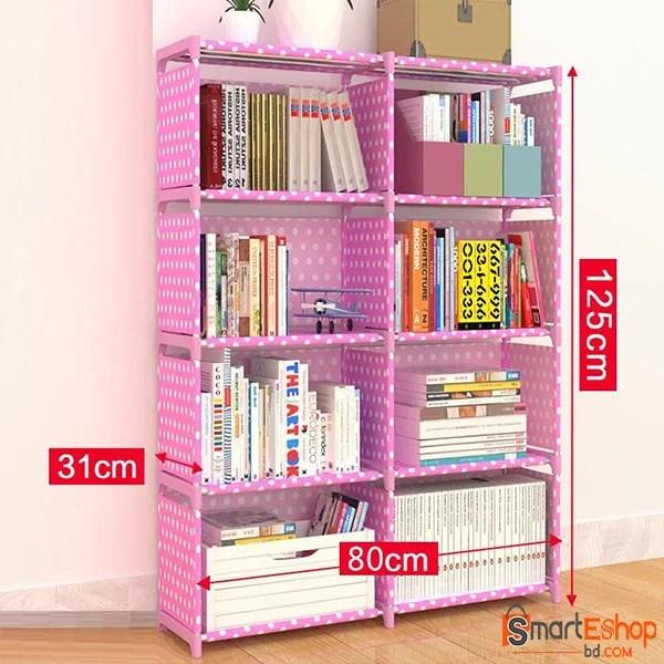 Creative shelf storage bookcase student book shelf modern storage rack bookracks