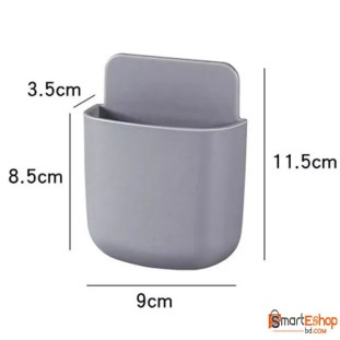 Wall mounted storage box, air conditioner storage box, remote control, TV, cell phone, holder
