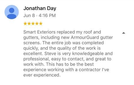 gutter install review