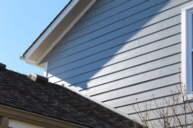 siding and roofline