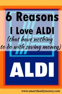 These are so true! These are great reasons to love ALDI!