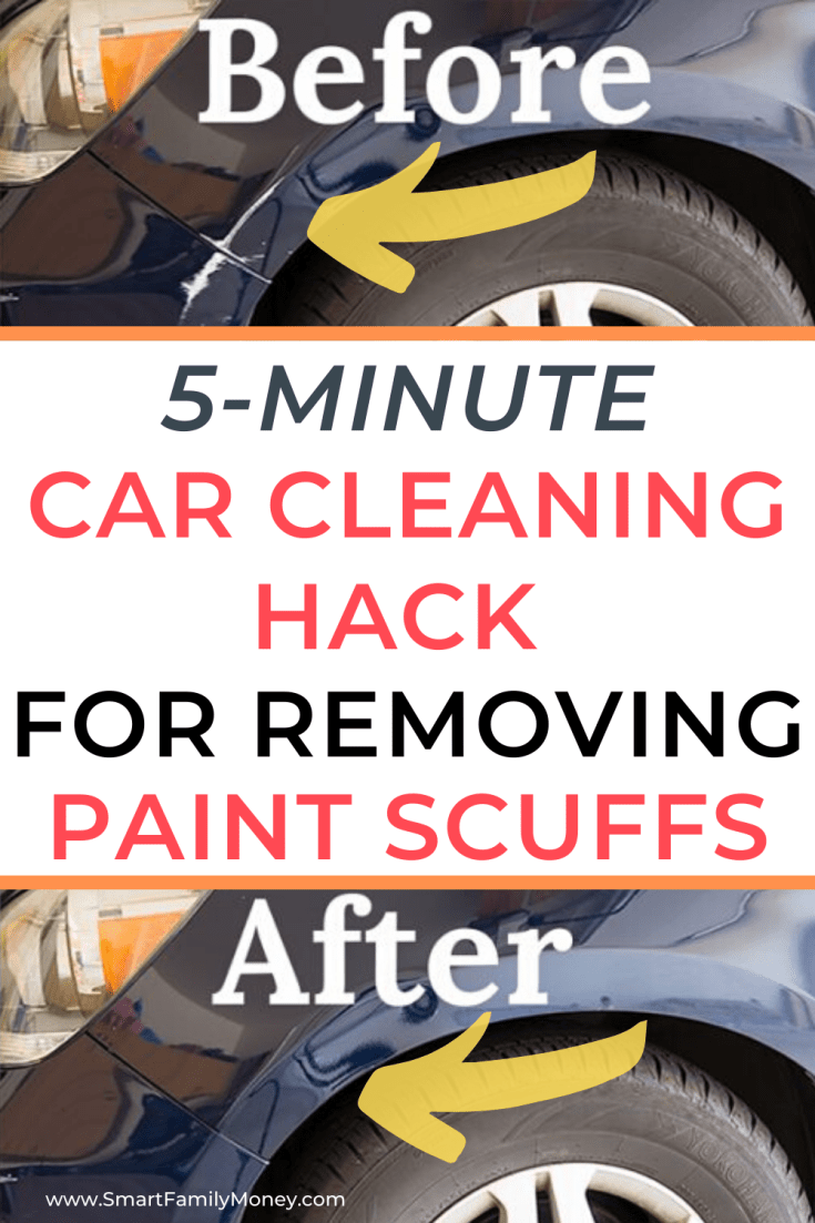 How to Remove Paint Transfer Scuffs from a Car