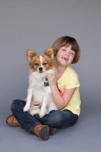 Every kid needs a dog!
