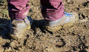 Mud happens! Be prepared!