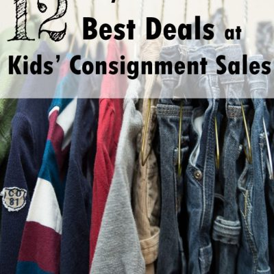 12 Ways to Get the Best Deals at Kids' Consignment Sales