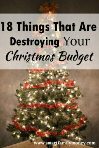 This is a great list! It really helped me plan our Christmas expenses!