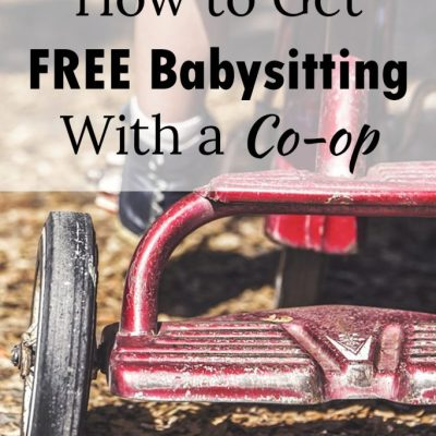 How to Get FREE Babysitting With a Babysitting Co-op