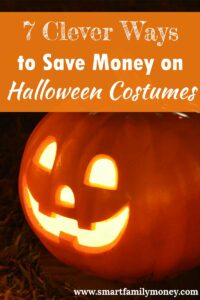 These are great ideas for saving on Halloween costumes!