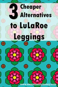 I love these cheaper leggings! Now I can have leggings I love without hurting my budget!