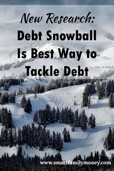 New Research: Debt Snowball Is Best Way to Tackle Debt